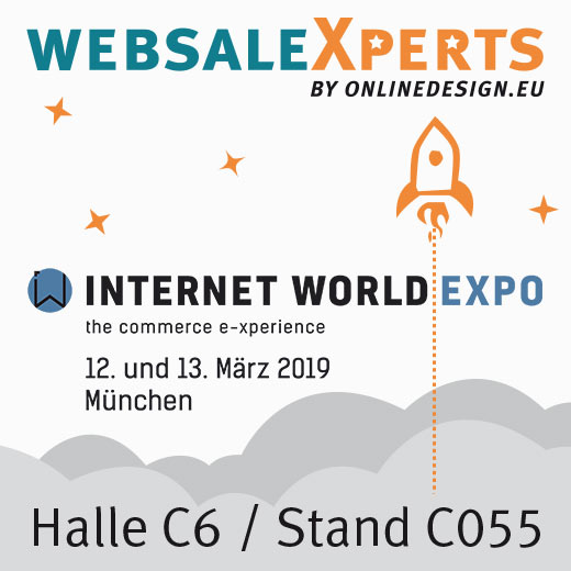 online design bei der Internet World EXPO 2019 in München
