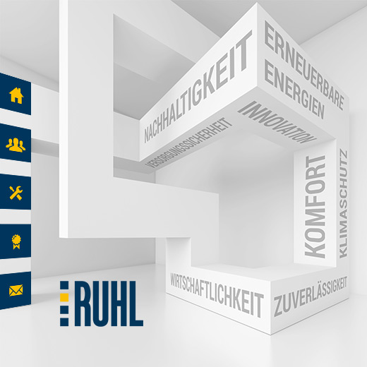 online design - Corporate Website - RUHL TecConsult, Altenbamberg