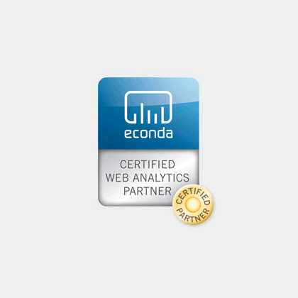 online design - econda certified web analytics partner