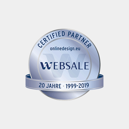 online design - WEBSALE Certified Partner