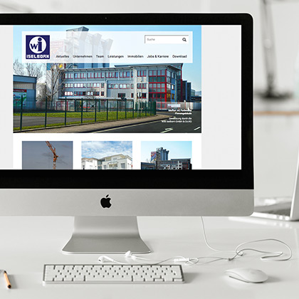 online design - Corporate Websites - iselborn.com