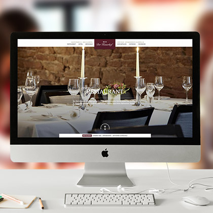 online design - Corporate Websites - kaiserhof-guldental.de
