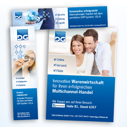 online design - Corporate Design - D&G GmbH